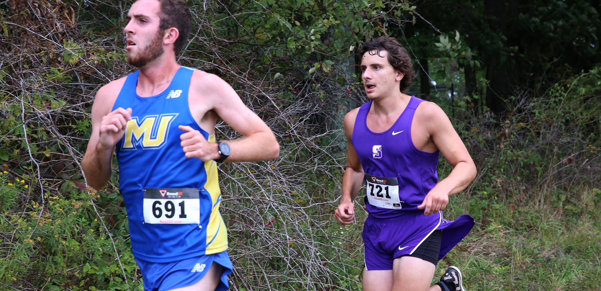 Senior Schuyler Smith was the Royals' top finisher in Friday's Misericordia Invitational.