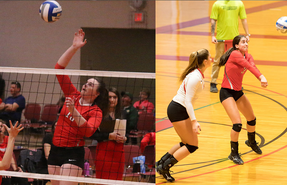 Oneonta Sweeps Volleyball Weekly Honors