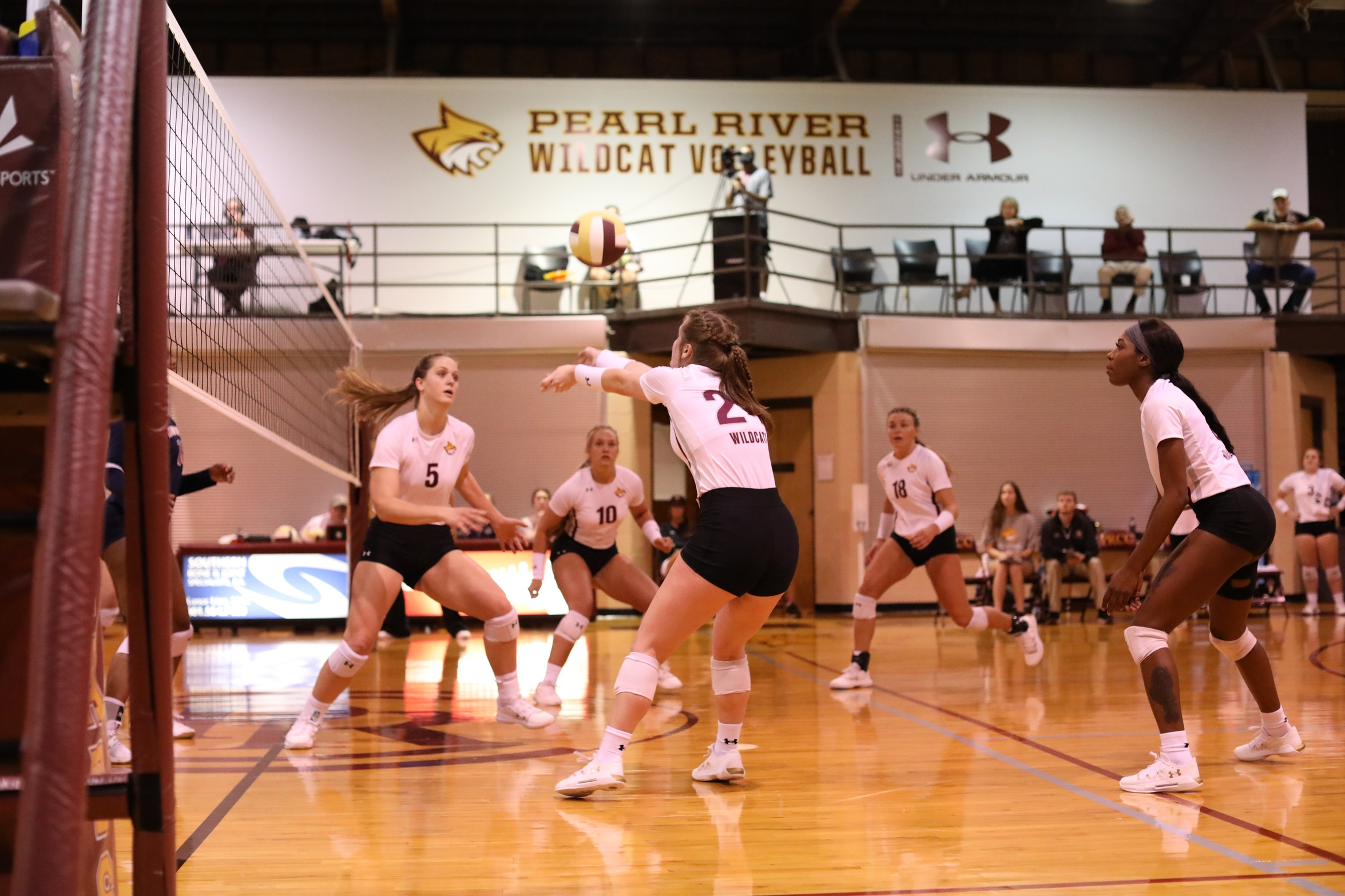 Pearl River volleyball shines in sweep at Itawamba