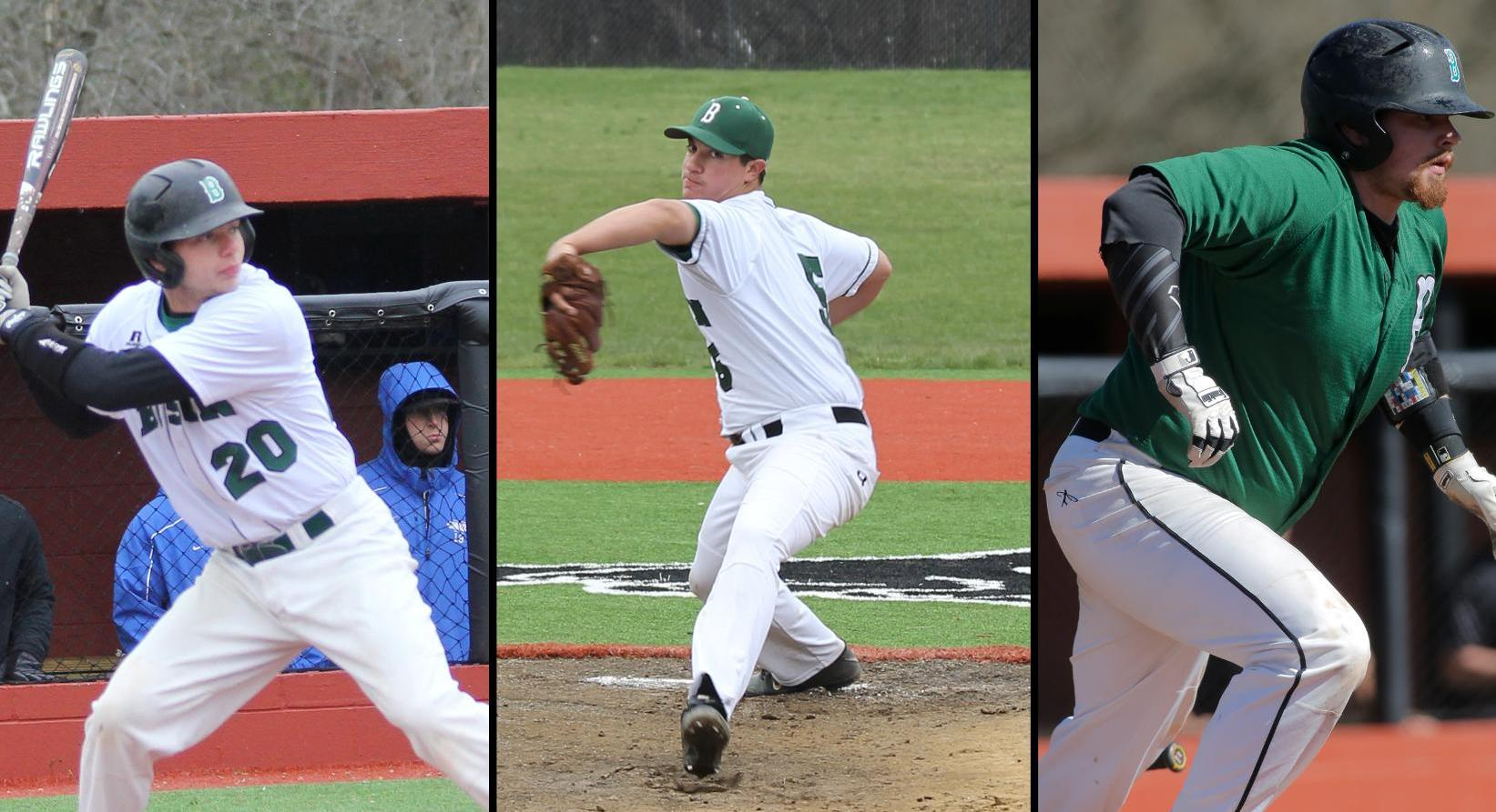 Trio of Bison Earn All-PAC Baseball Honors
