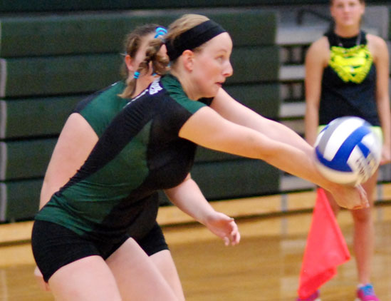 Volleyball drops four at Earlham