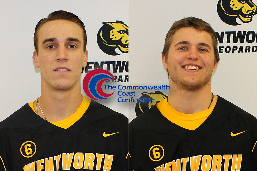 Paradis, Parlato Named All-Commonwealth Coast Conference