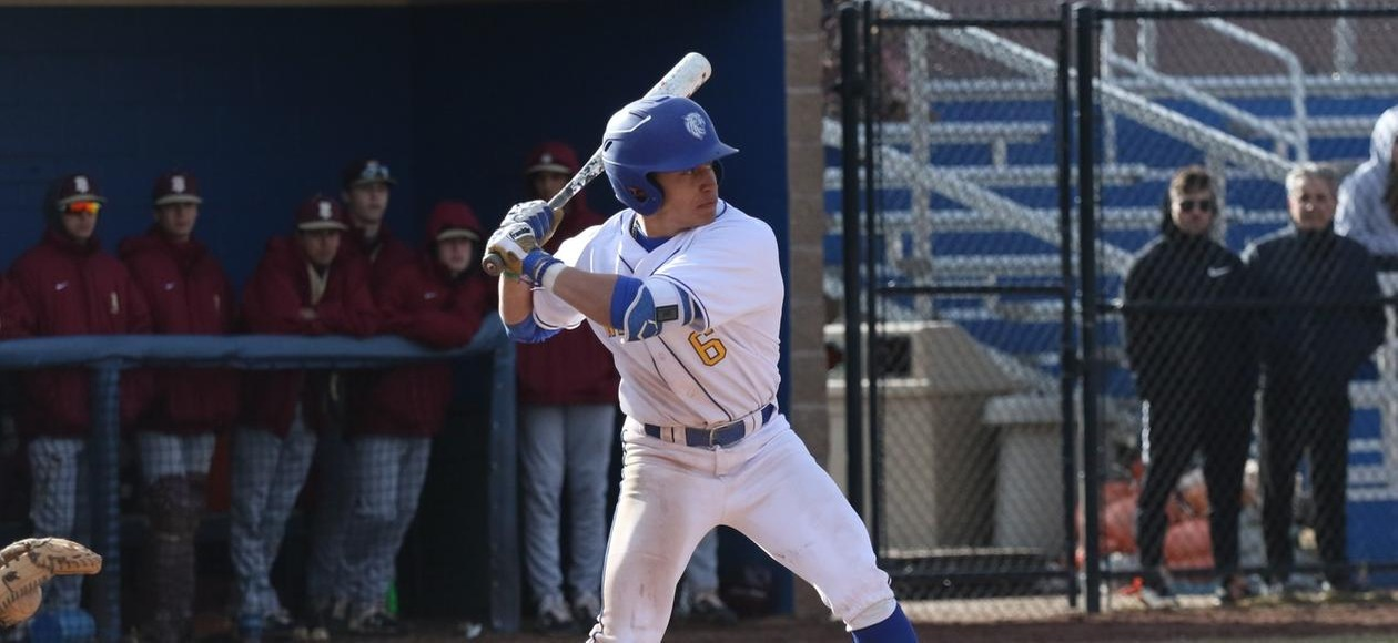 Baseball Splits Doubleheader at Colby-Sawyer
