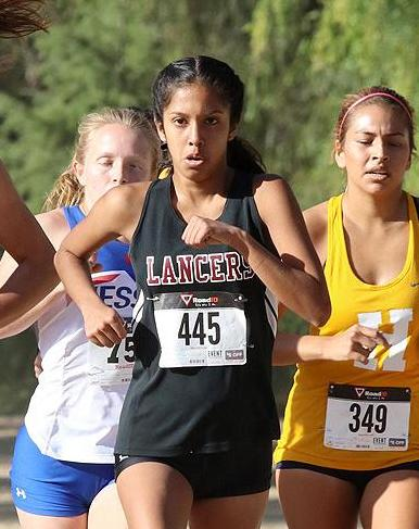 Raylin Galvan is a middle distance runner on PCC's women's track and field team.