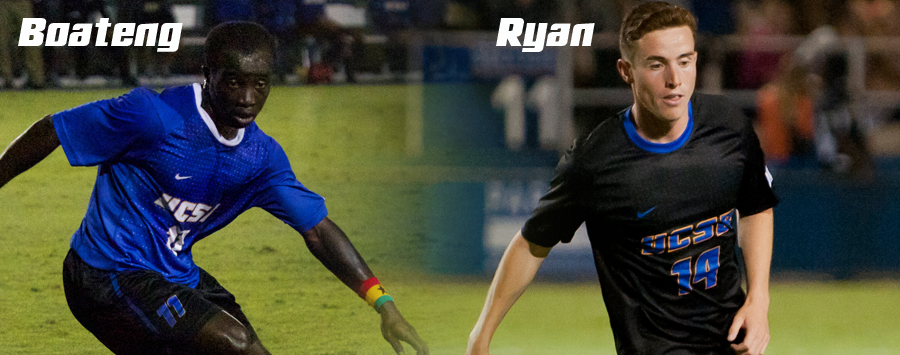 Ryan, Boateng Garner Major Big West Honors
