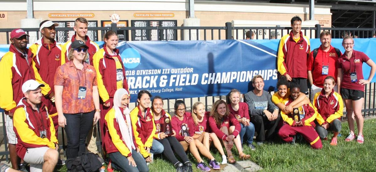 NATIONAL CHAMPION: Abraham leads Athenas to fifth place at NCAA Championships