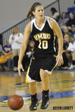 Meghan Colabella is averaging 12.5 ppg in her last two contests.