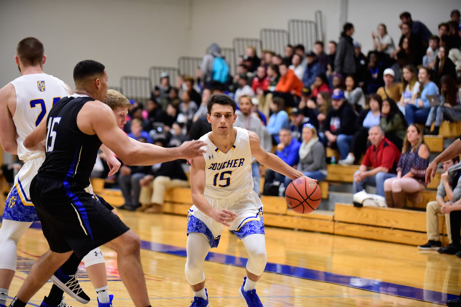 Men's Basketball Defeated by Salisbury, 101-71