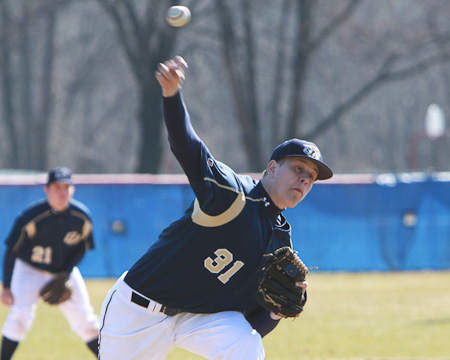 GU's Brandon Holsworth named NEAC Pitcher of the Week