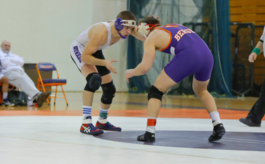 Sophomore Shawn Flesche had a pin at 165 pounds in the Royals' 51-0 win at Yeshiva on Wednesday, Jan. 30.