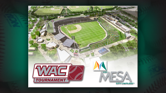 "2014 WAC BASEBALL TOURNAMENT TO BE PLAYED AT ""WRIGLEY WEST"" IN ARIZONA"