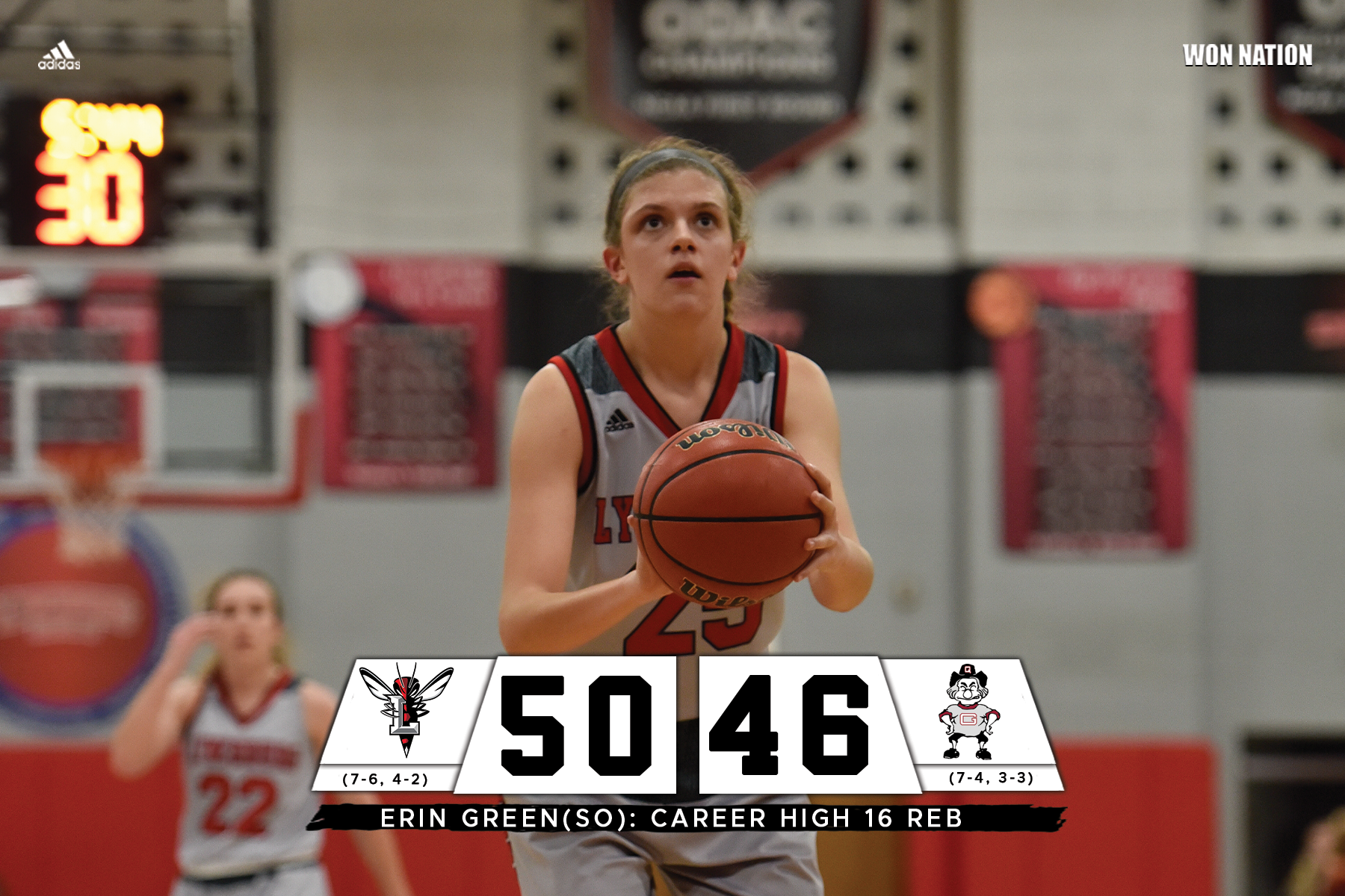 Women's basketball takes down Guilford
