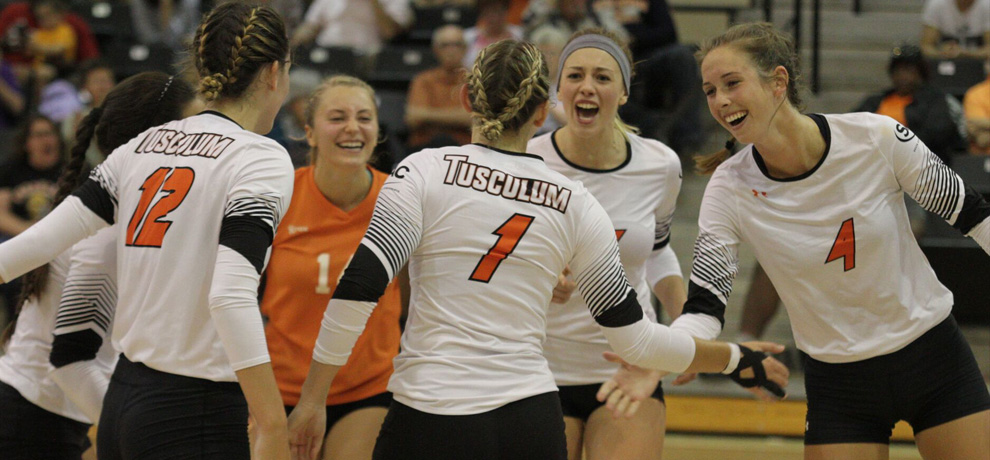 Tusculum volleyball falls 3-0 at Anderson, five-match winning streak snapped