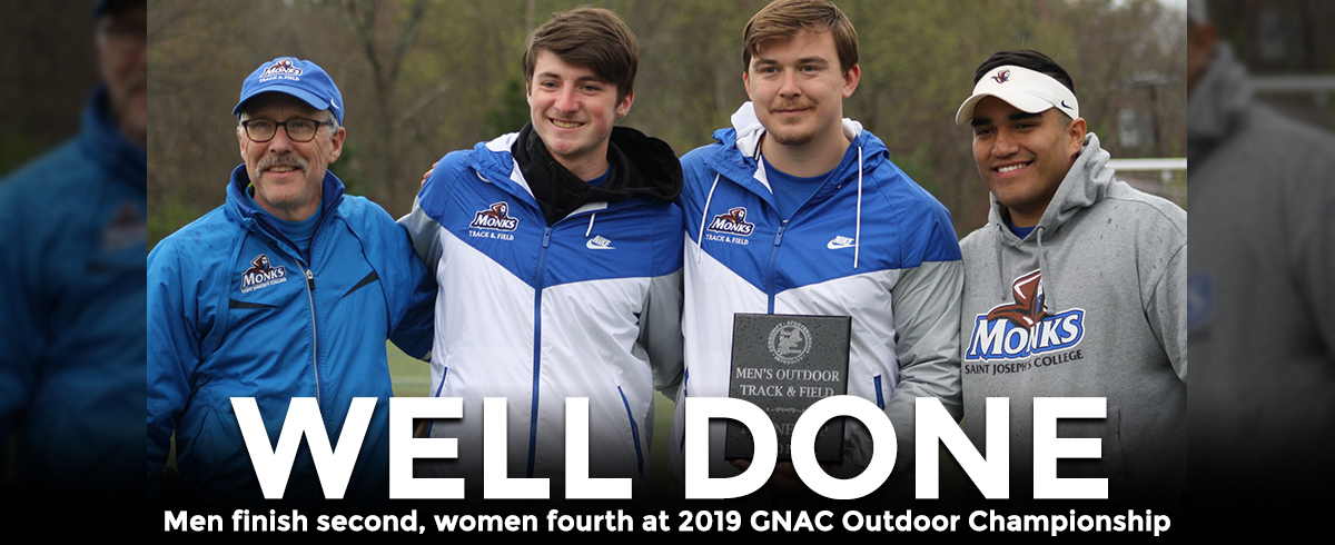 Men Place 2nd, Women 4th @ GNAC Outdoor Track & Field Championship
