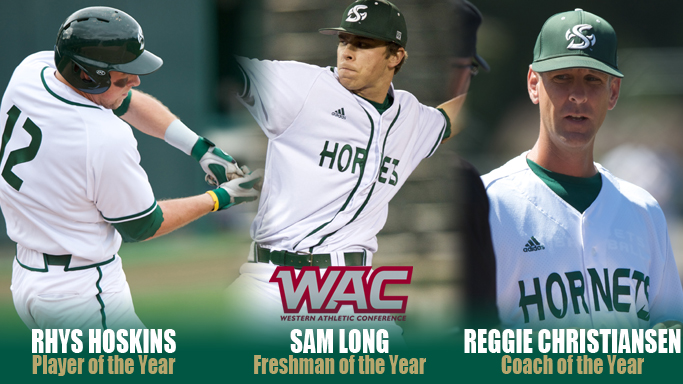 HOSKINS, LONG, CHRISTIANSEN LEAD BASEBALL'S MULTIPLE ALL-WAC HONORS