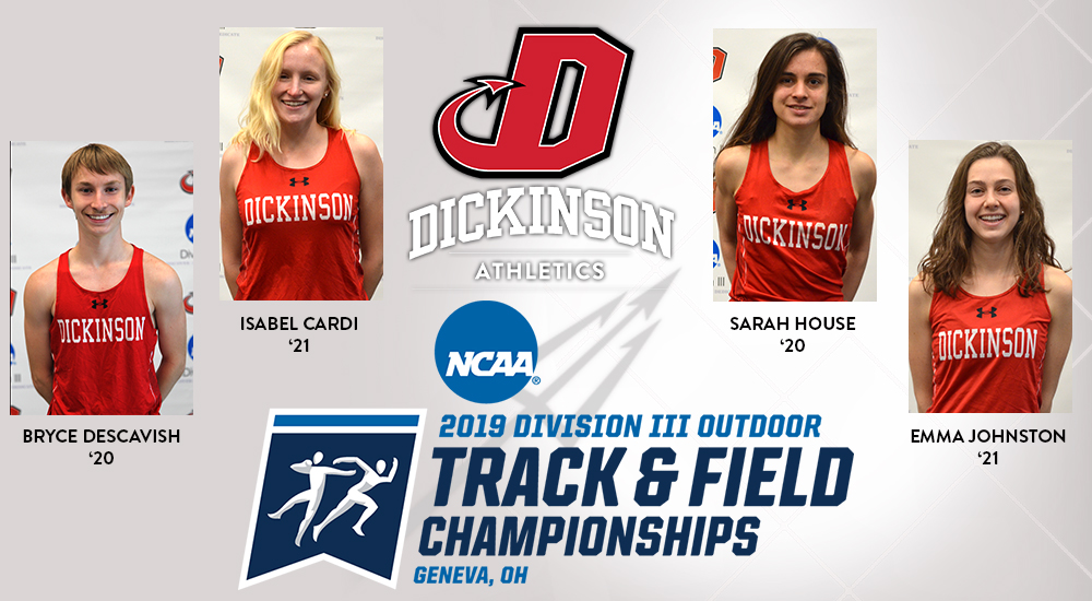 Descavish Heads to NCAA T&F Championships