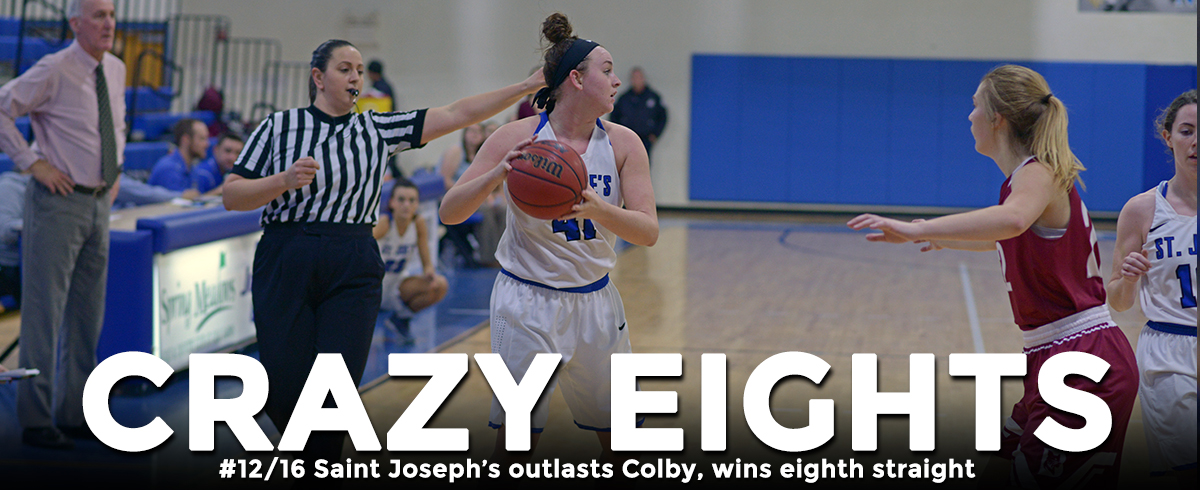 Saint Joseph's Bests Colby, Wins Eighth Straight