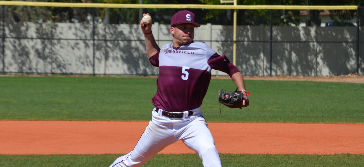 Naples Throws Gem in Baseball's Shutout Victory Over Eastern Connecticut, 3-0