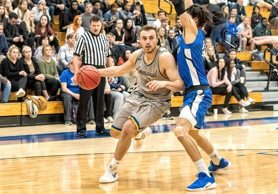 SAINTS DOWN FALCONS 92-84 TO STAY UNBEATEN IN GNAC PLAY