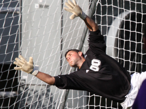 Carreira's 18 Saves Secure Scoreless Tie for Men's Soccer