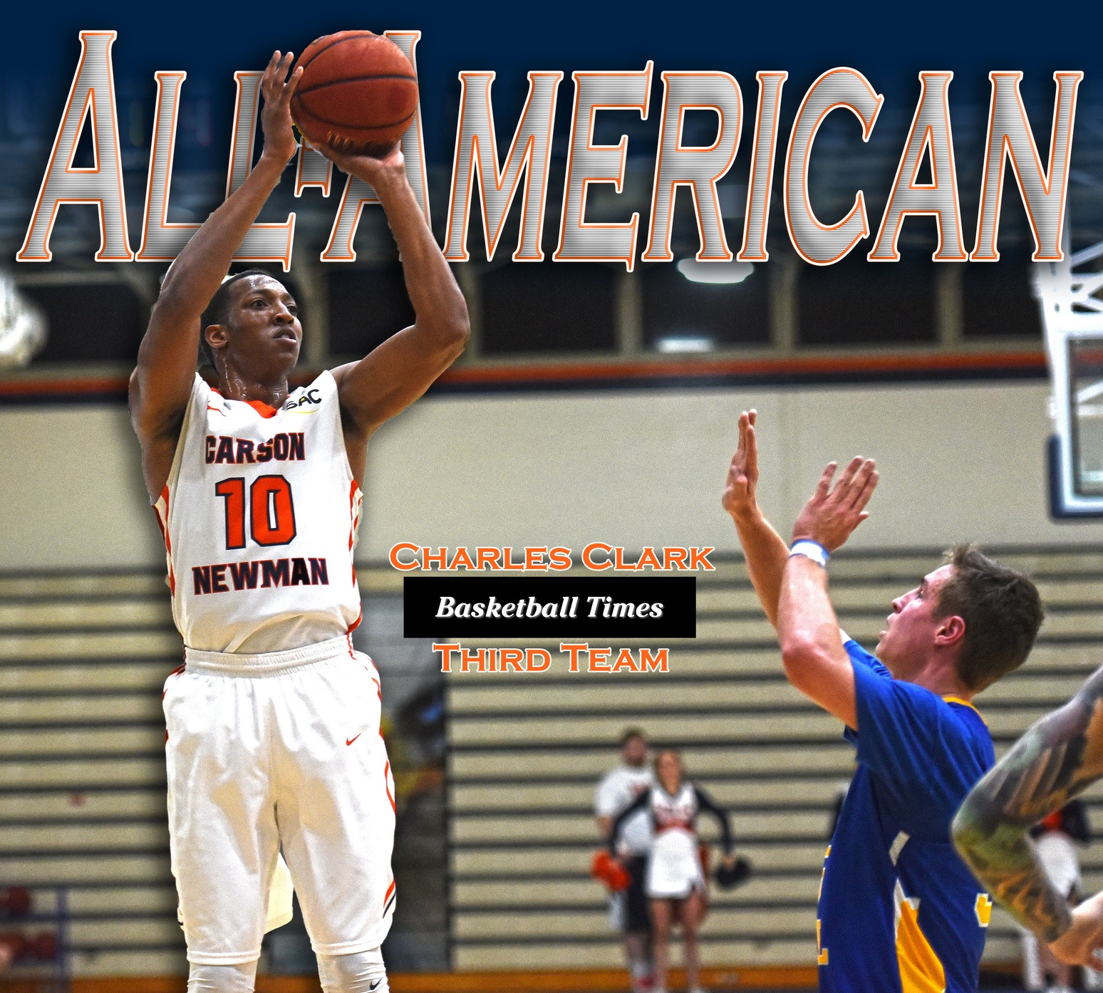 Clark becomes Carson-Newman's 12th All-American with plaudit from Basketball Times