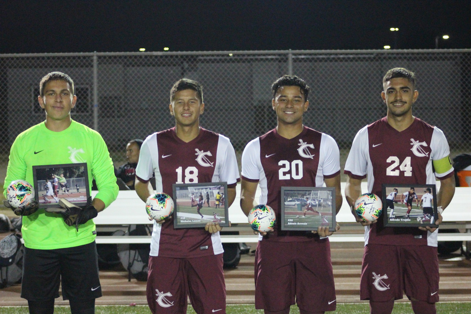 Men's Soccer Honors Four on Sophomore Night