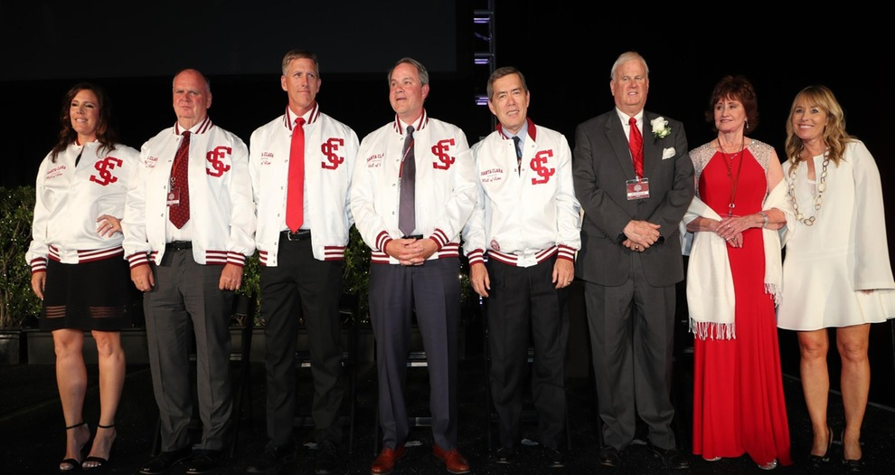 Annual Red and White Hall of Fame Celebration Honors Past and Present of Santa Clara Athletics