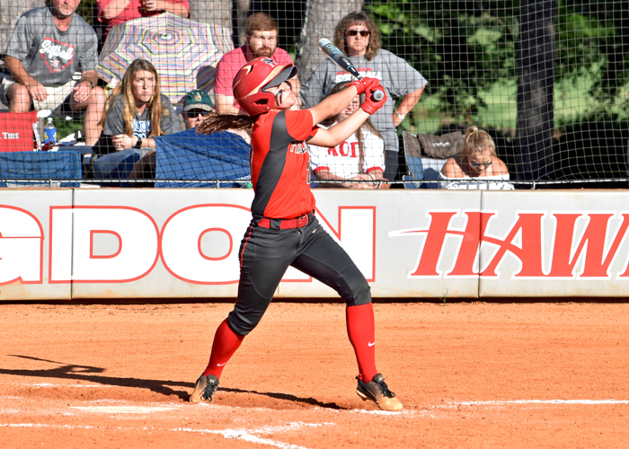 Madison Perryman was 3-for-6 with a solo home run, two RBIs and three runs in Saturday's sweep of Covenant.