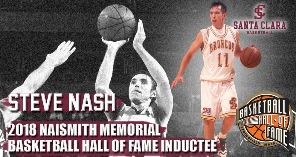 Steve Nash Inducted to Naismith Basketball Hall of Fame