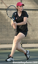 Q&A With Senior Women's Tennis Player Erika Barnes