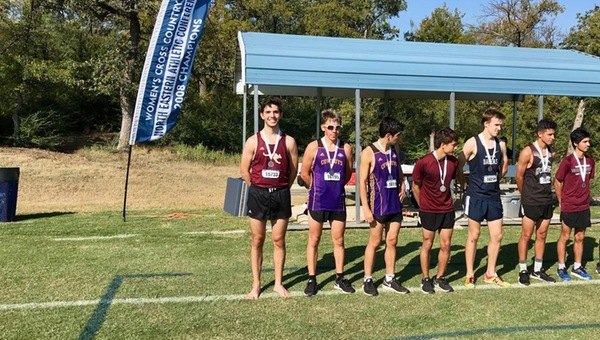 Men's XC Post Strong Showing at Dallas Invitational