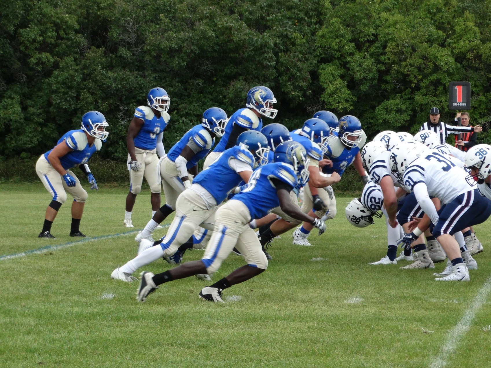 Trinity FB Comes up Short Against Finlandia