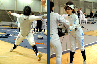 Cardillo, Mack top fencers at 2011 Northeast Regionals