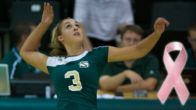 VOLLEYBALL OPENS HOMESTAND FRIDAY, BREAST CANCER AWARENESS DAY ON SATURDAY