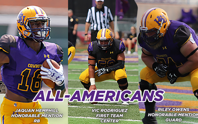 Rodriguez, Hemphill, Owens Named All-Americans