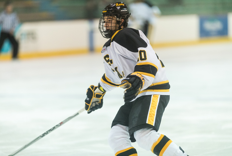 Men's Ice Hockey Falls at Worcester State