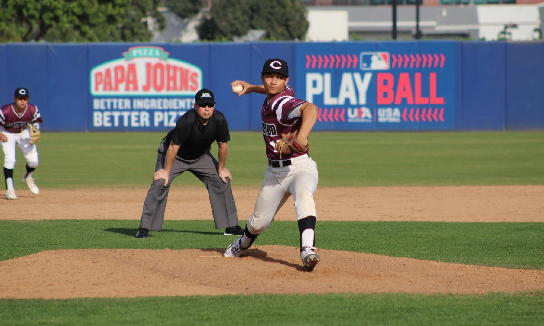 Baseball Caps March with Pair of Wins over West Hills Coalinga
