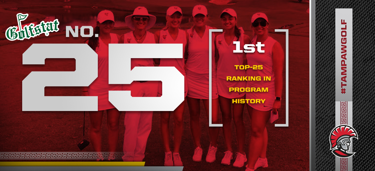 Tampa Women's Golf Earns First-Ever National Ranking