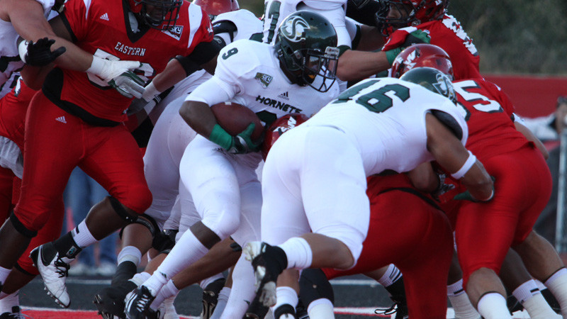 Football Battles No. 1 Ranked Eastern Washington Until the End, Falls 31-28