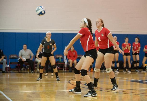 Women's Volleyball Bounces Back For First Win of Season
