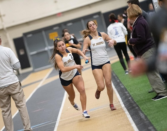 Indoor Track and Field Competes at ECAC Championships