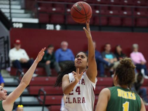Women's Basketball Set for Showdown with Saint Mary's at Home
