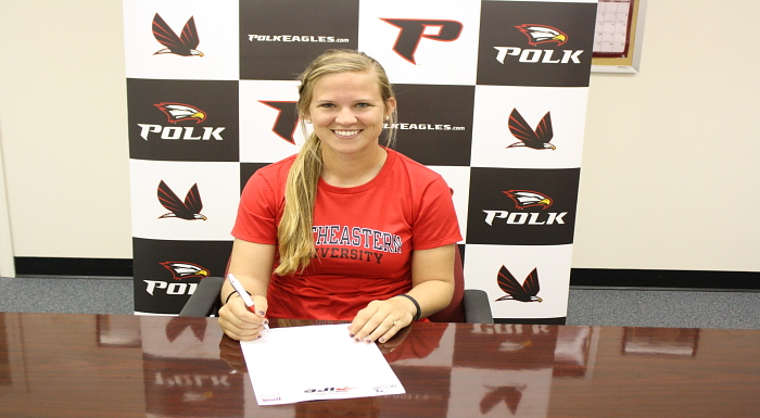 Molly Billue Signs Letter of Intent to Southeastern University