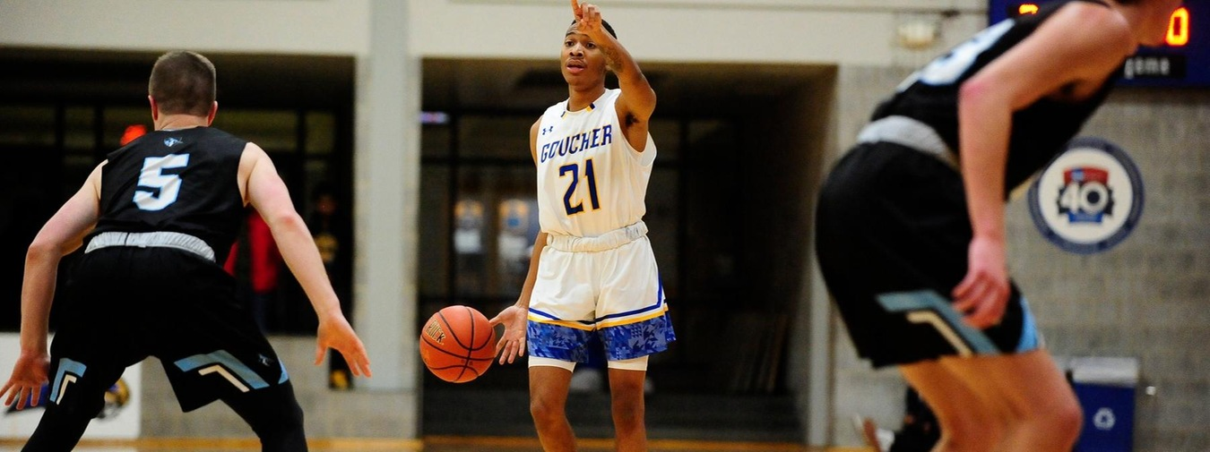Isaacs Nets Career-High 20 Points In Goucher Men's Basketball Loss To Oglethorpe In First Round Of West Palm Beach Tournament