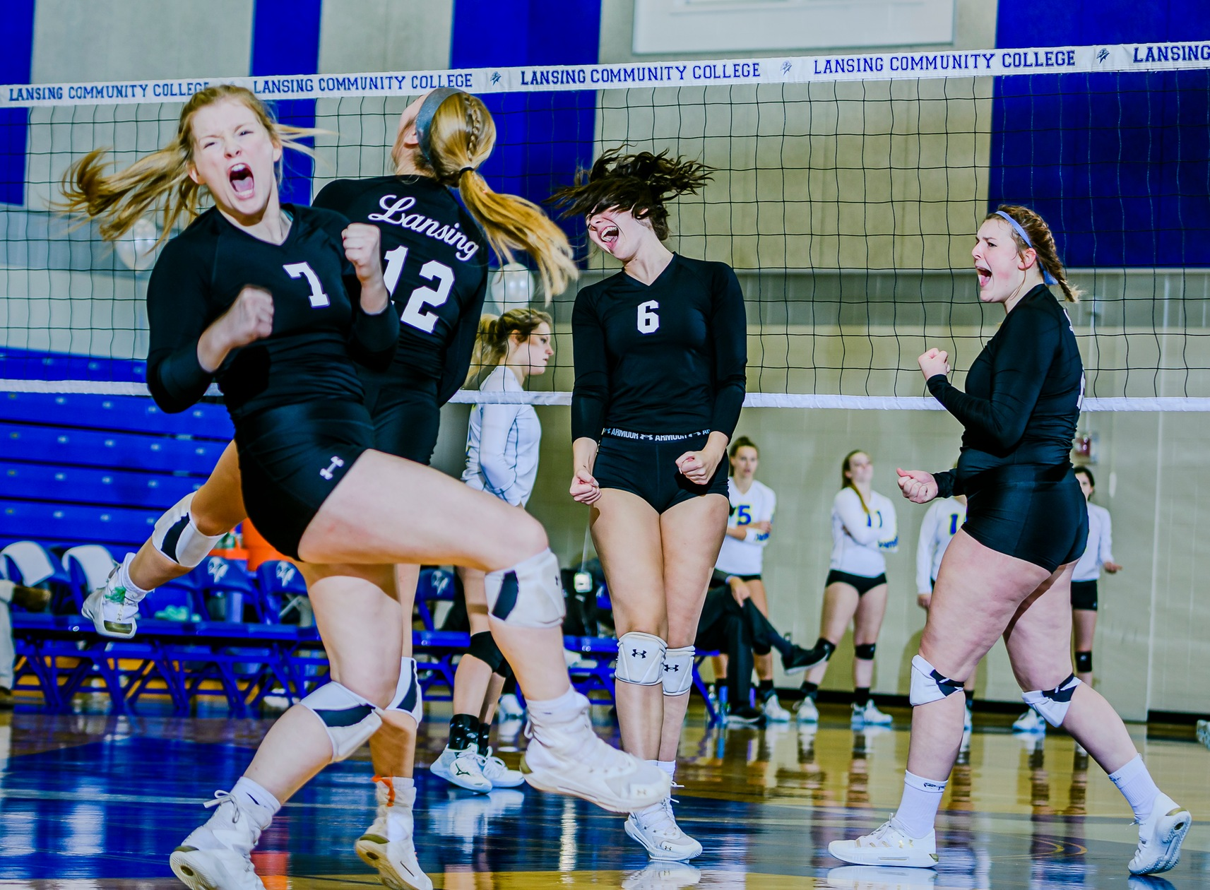 Volleyballers' strong season ends in districts
