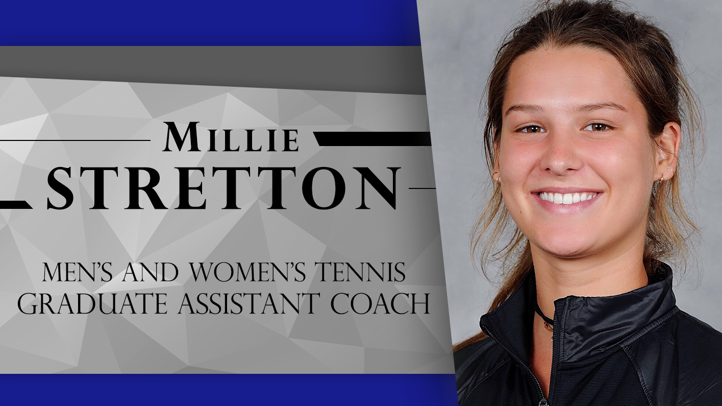Stretton announced as first Assistant Coach for new tennis programs