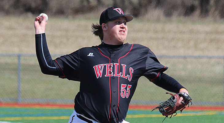 First-Ever NEAC Sweep for Wells Baseball
