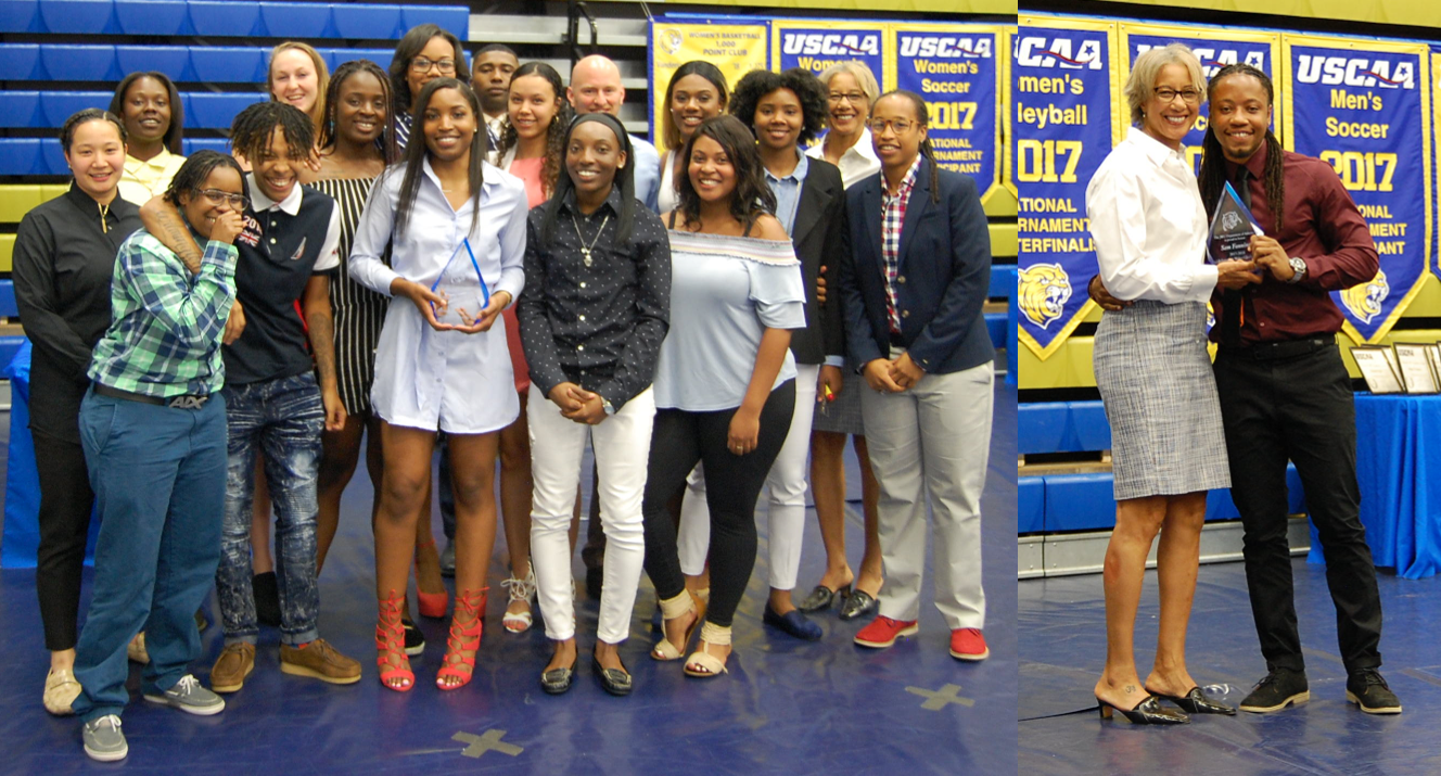 Student-Athletes Honored at Annual Year End Banquet