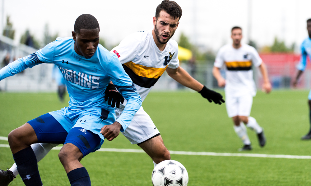 Men's soccer to complete Humber trilogy in OCAA Title Game