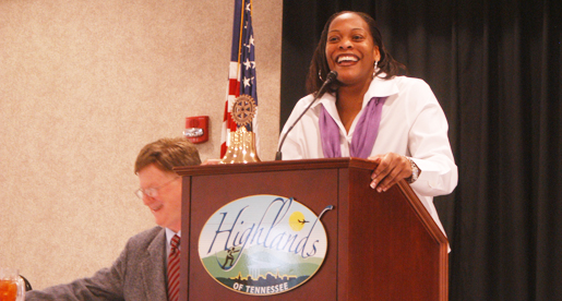 Messer speaks at Cookeville Rotary function